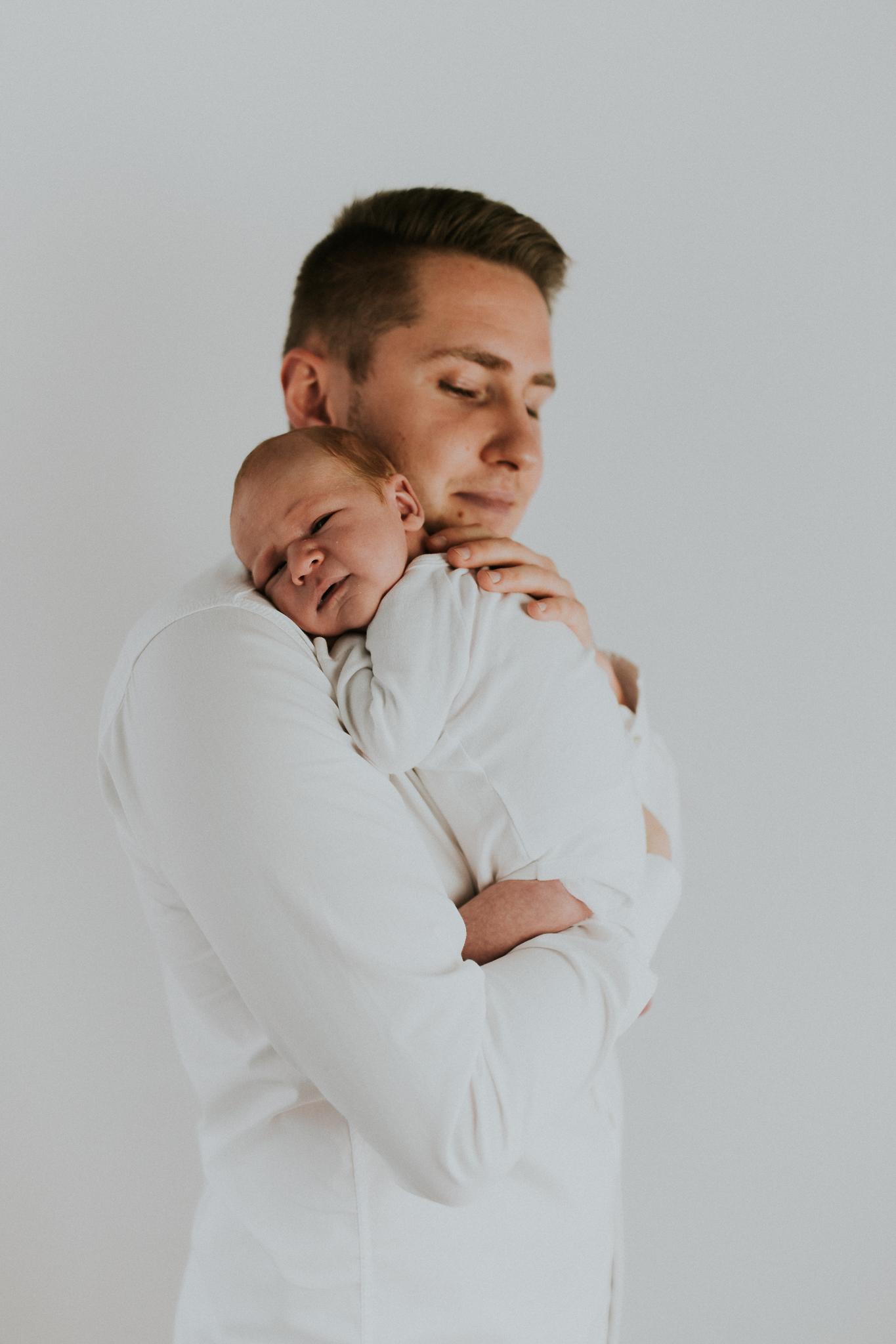 Sesja noworodkowa rodzinna Tymon Monika i Mateusz NET-40