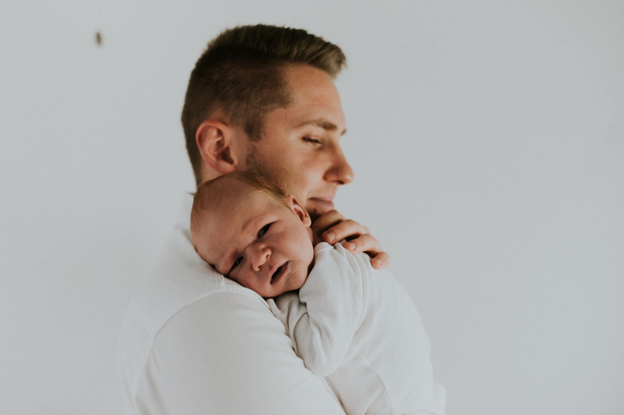 Sesja noworodkowa rodzinna Tymon Monika i Mateusz NET-41