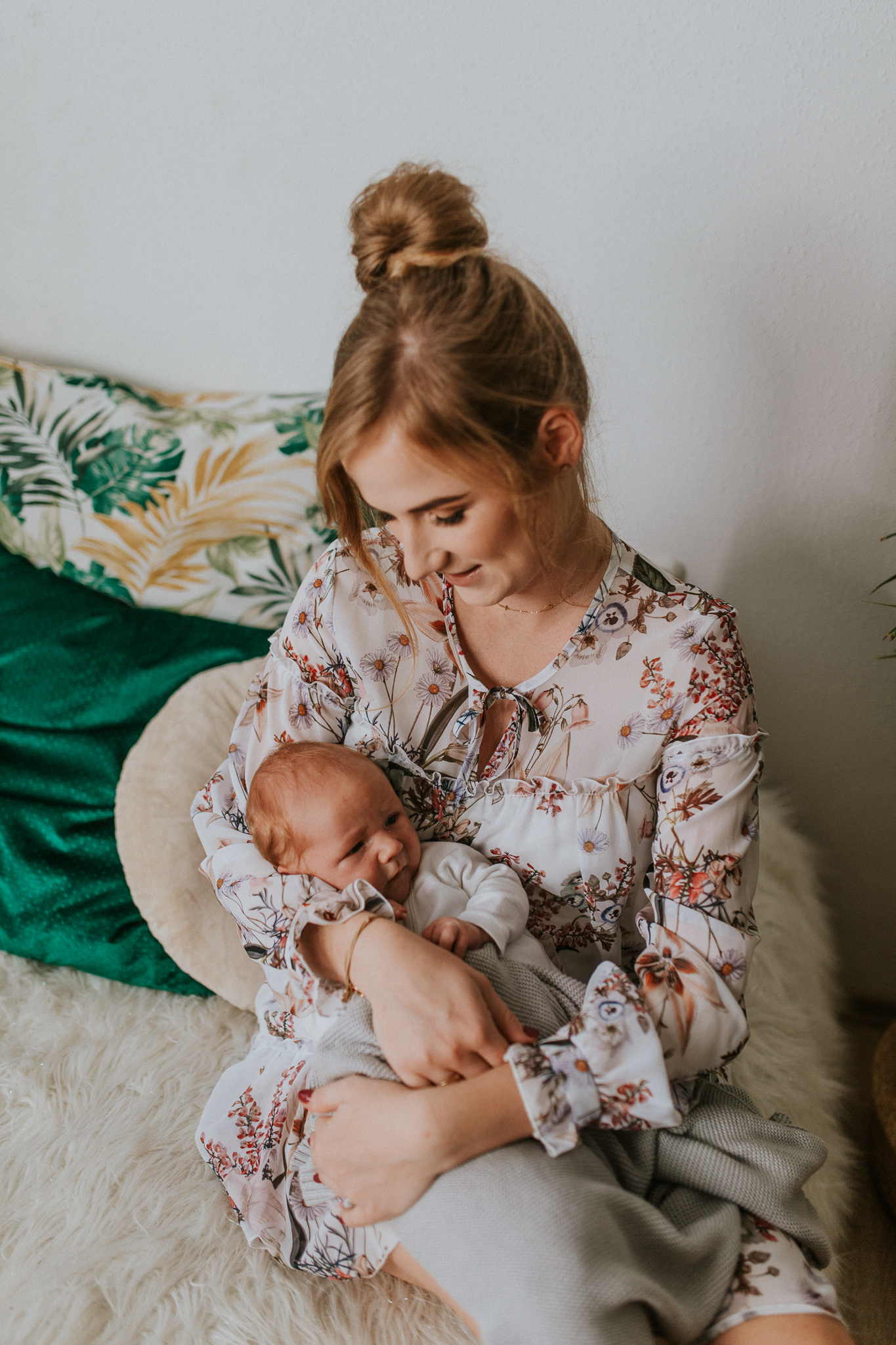 Sesja noworodkowa rodzinna Tymon Monika i Mateusz NET-85
